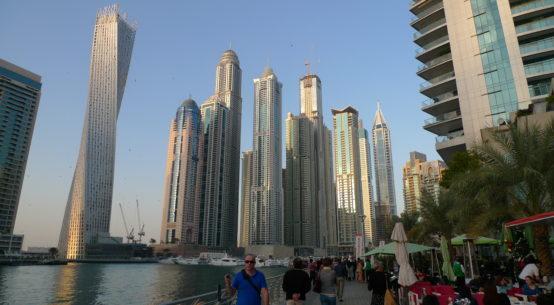 Marina à Dubaï