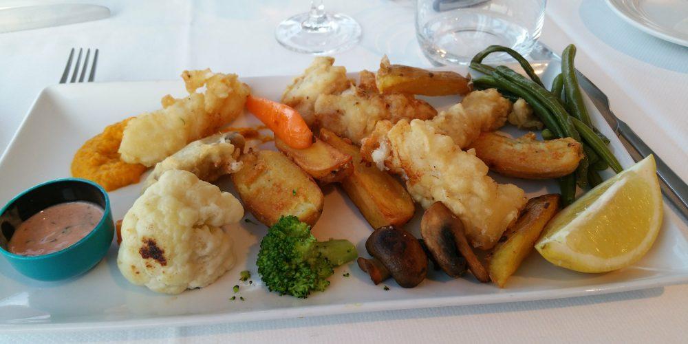 Fish and chips, régalez-vous.