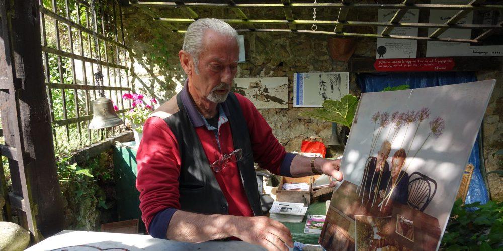 Gérard Fusberti, l'ami qui a créé lun jardin à l'image d e Jacques Prévert