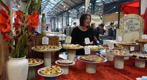 Pâtisseries au marché de Belfast.